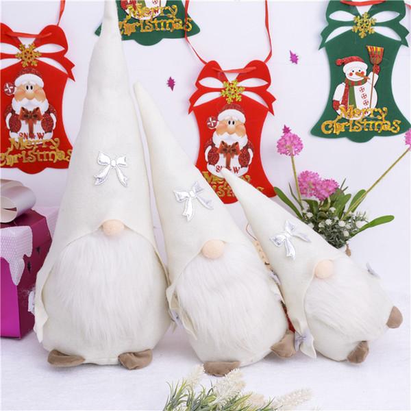 2018 Рождество tomte/Ниссе Санта-Клаус украшения плюшевые Рождество смешные Гном плюшевые-Рождественский подарок детям