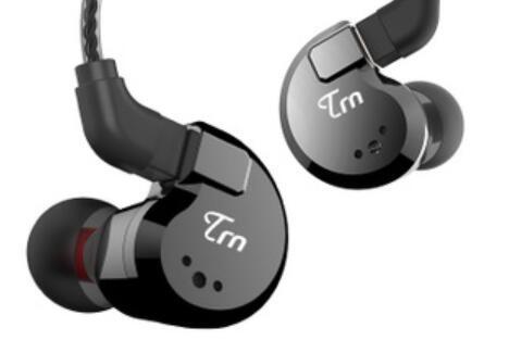 TRN V80 2BA + 2DD Hybrid Metall In Ohr Kopfhörer HIFI DJ Monito Laufen Sport Kopfhörer Ohrstöpsel Headset Abnehmbares Kabel AS10 V30 für iphone 5 stücke
