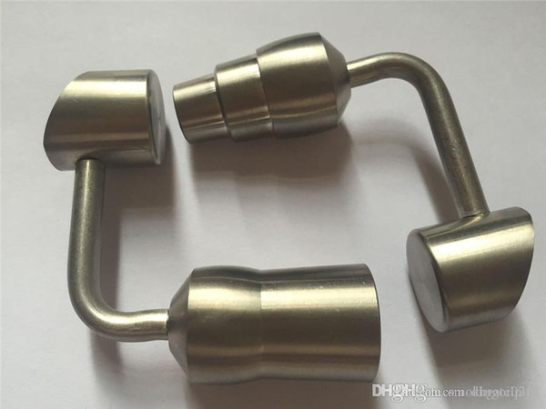Special style domeless 14mm Titanium Nail titanium oil rigs titanium nail for Wholesale Tobacco smoking