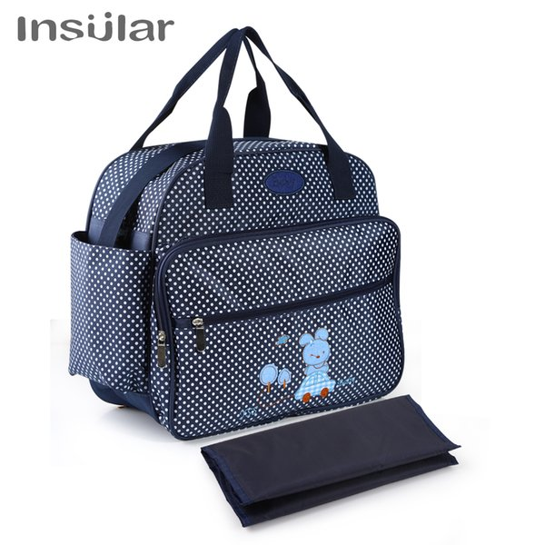 Mummy Maternity Nappy Bag Infant Nursing Stroller Handbag Large Capacity Baby Diaper Bags Hobos Baby Care