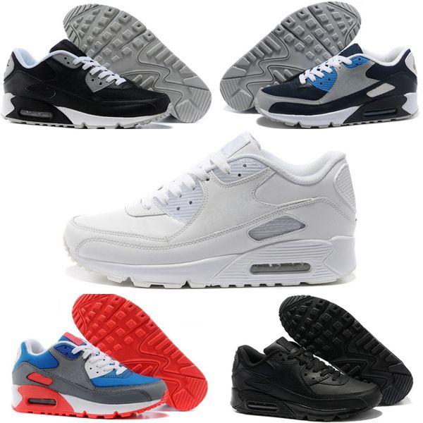 Nike air max 90 Chaussures hommes 90 HYP PRM QS Кроссовки Продажа Интернет Мода День Независимости Zapatillas Флаг США Спортивные Кроссовки 40-46