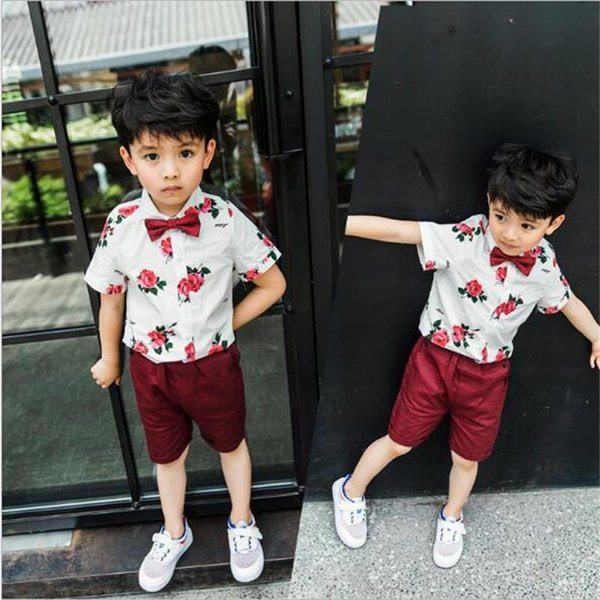 9d84dbee12743 2019 Cute Baby Girls Clothes Summer Toddler Kids Denim Tops+Leopard ...