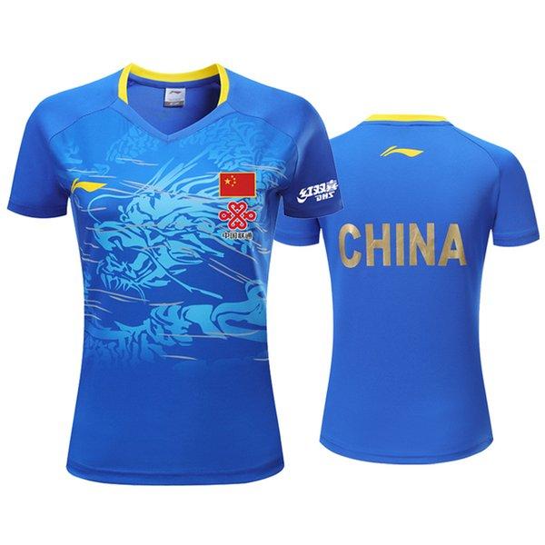 Women Blue A Shirt