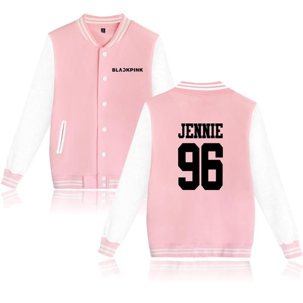 Blackpink Album Jacket Women Men designer jackets Harajuku Sweatshirt Member Name Print Hip Hop Hoodies luxury coat
