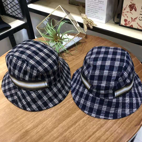 Autumn New Arrival womens designer hats luxury caps for women men with Plaid pattern Fashion Hot Brand fitted Flat G cap High quality