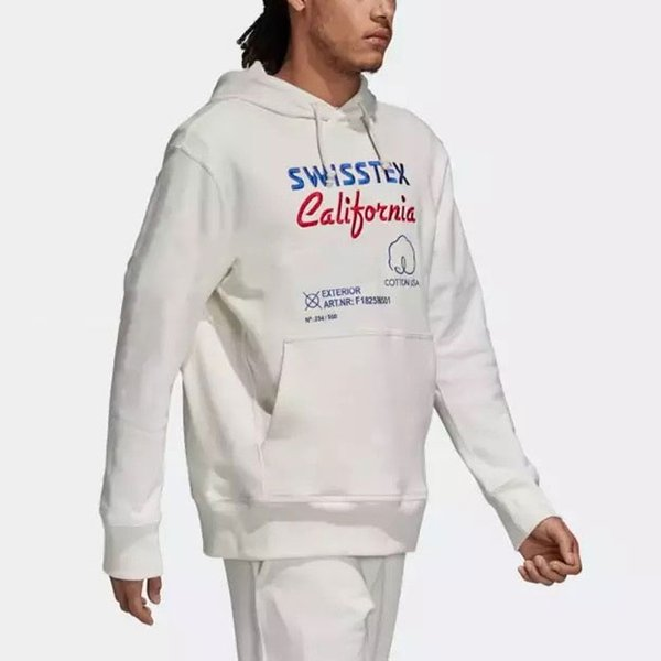 Primera marca con la camiseta de los hombres Swisstex California impresión de las letras del suéter jerséis con capucha casual calidad superior de deportes Operando BlackLJJ98285