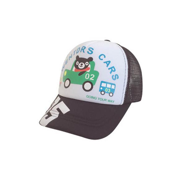 Лето мультфильм дети шляпы письмо детские шапки дети Бейсбол шляпы мальчики шапки, девочка шлемы островерхие шляпы Cap сут дизайнерские аксессуары A5262