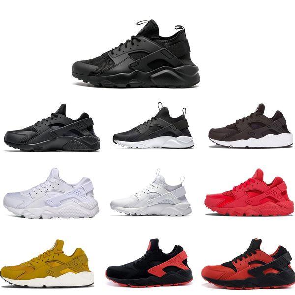 2019 Huarache Ultra 4.0 Hurache Tênis Para homens sola Triplo Branco Preto Huraches Esportes Huaraches Sneakers Harache Mens sapatos de grife