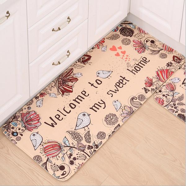 Großhandel Fußmatte Rutschfeste Küche Wohnzimmer Teppich / Badematte Home  Eingang Bodenmatte Flur Teppiche Küche Home 10Style Von Lienal, $39.12 Auf  ...