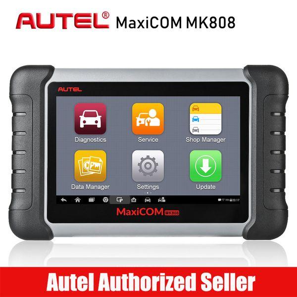 Autel MaxiCOM MK808 Car Diagnostic Scan Tool Automotive All System OBD2 OBD Scanner Oil Reset EPB BMS SAS DPF TPMS ABS Bleeding