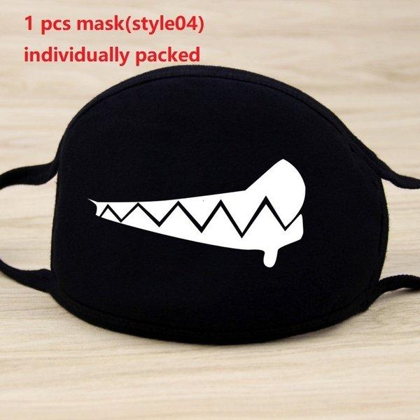1pc máscara negro (style04)