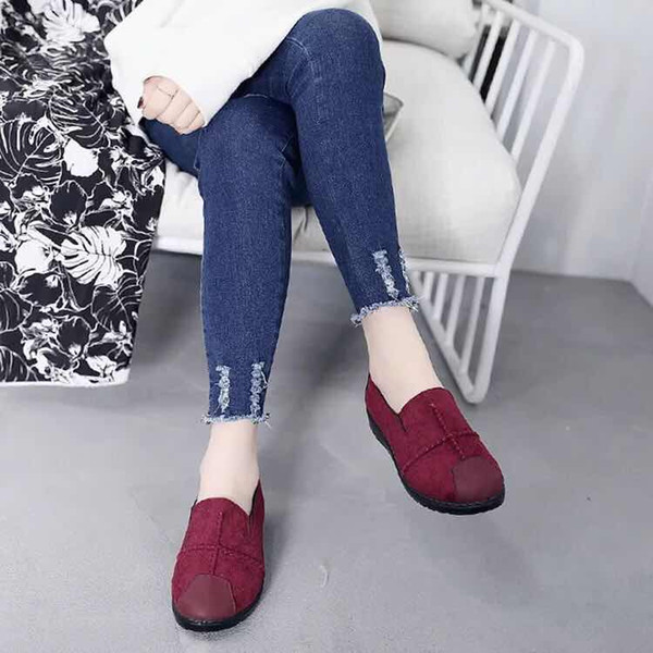 SANDALI IN Cuoio genuino Scarpe casual di alta qualità Scarpe casual Scarpe estive moda piatte ampia bocca spedizione gratuita 38-45 z4