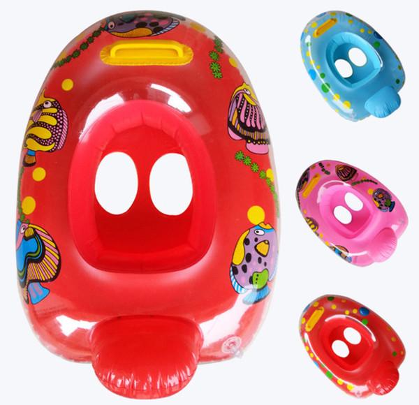 anello per il nuoto del bambino seggiolino auto per bambini piscina galleggiante galleggiante anelli per bambini giri nuoto salvagente seggiolino per bambini barca all'ingrosso