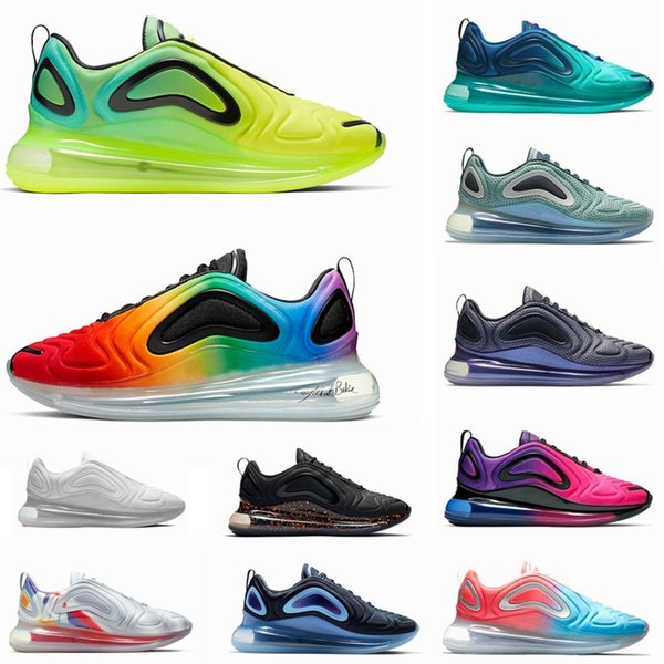 Running Shoes for Mens Women Volt Metallic Platinum Northern Lights Pink Sea CARBON GREY Triple Black White Men Trainer Sports Sneakers
