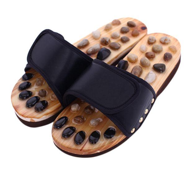 Çakıl Taş Ayak Masaj Terlik Refleksoloji Ayak Yaşlı Akupunktur Sağlık Ayakkabı Sandalet Terlik Sağlıklı Masaj