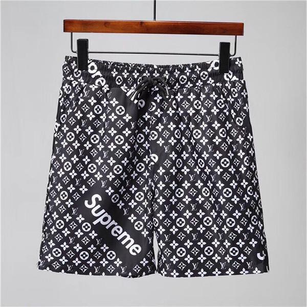 2019 Luxury Waterproof fabric runway trousers Summer Beach Pants Mens Board Shorts Men Surf Shorts Swim Trunks Sport Shorts