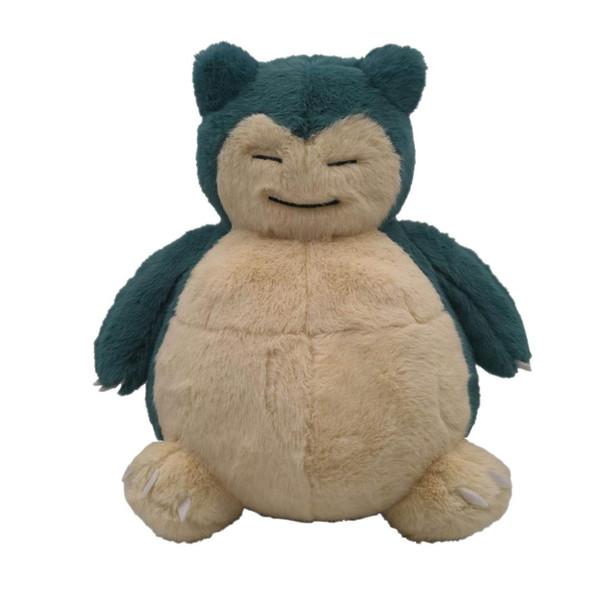 Detective Pikachu Kawaii Snorlax peluche di alta qualità Elf morbida bambola di pezza Regalo di qualità Collezione regalo di compleanno