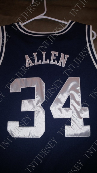 Cheap custom Ray Allen Jersey College UCONN Stitched Customize any name number MEN WOMEN YOUTH JERSEY XS-5XL
