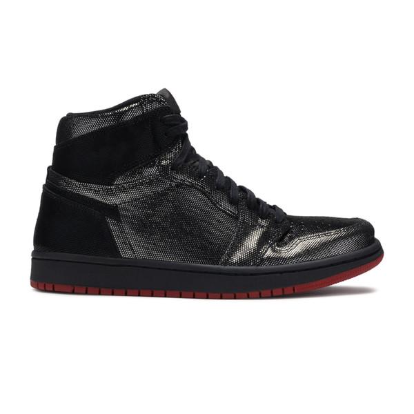 1s Palace Gina noir rouge 1 chaussures de basket-ball haute qualité TOP Factory Version mens formateur 2019 New Sneakers avec Box