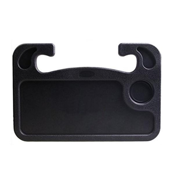 Laptop de carro preto / comendo roda mesa / suporte de copo de carro Rack (embalagem de 1)
