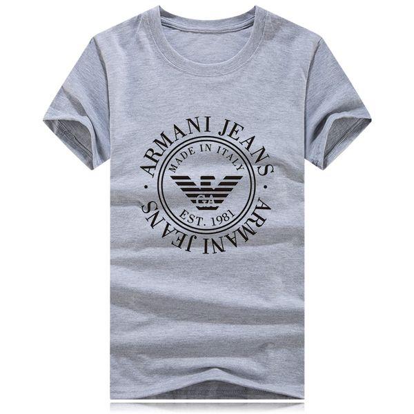 Großhandel marke t shirts für männer frauen kurzarm big logo hemd sommer casual paar runde kragen clothing mode brief drucken t