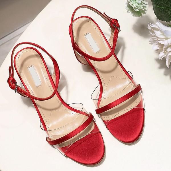 Sandale Дизайнерские сандалии Модные роскошные дизайнерские сандалии Sandales компенсируют горный хрусталь сандалиями, Back sash Модные повседневные женские туфли qo