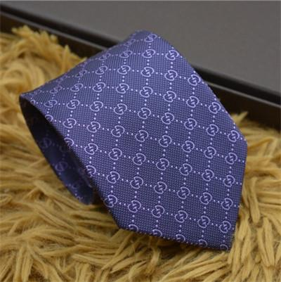 2018 hot sale Top tie casual man silk tie 8cm business tie design ties comes with box for gife