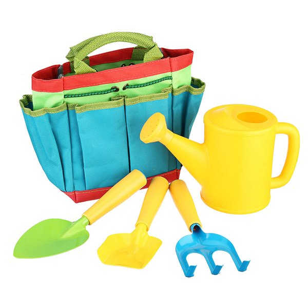 Kids Gardening Tool Sets Children Garden Tool Kit Bag Shovel Children Garden Tool Toys