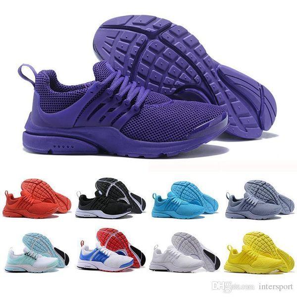 Commercio all'ingrosso New Presto 5 BR QS Uomo Donna Sneaker Tripel Nero Bianco rosso Scarpe da corsa da uomo trainer sportivo da ginnastica Scarpe da ginnastica da jogging scarpa 36-45