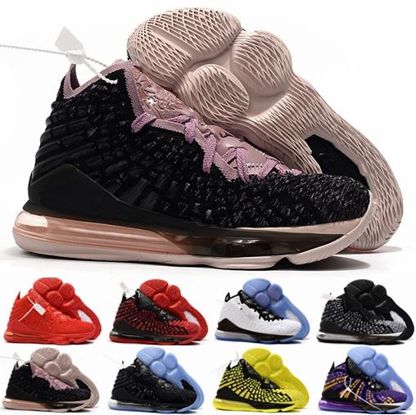 2019 New 17 17s James Zapatillas de baloncesto para hombres Championship Lakers King Signature Zoom Designer Zapatillas deportivas para hombre Zapatillas Cestas Zapatos