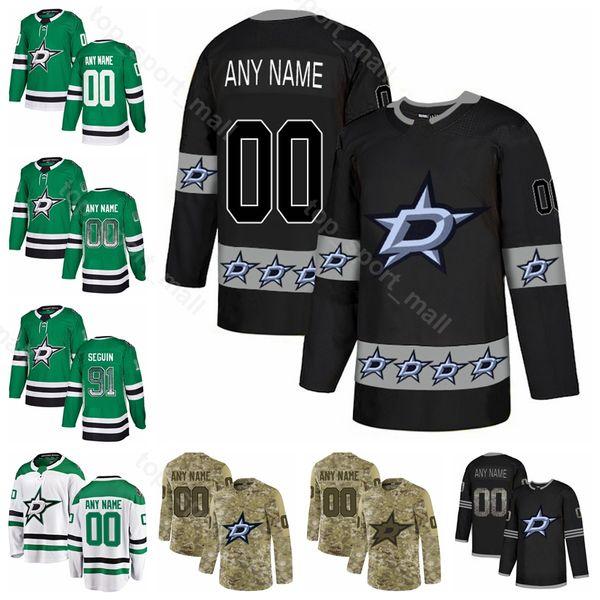 Jeune homme Hockey sur glace Alexander Maillon Jersey Étoiles de Dallas Esa Lindell Tyler Seguin Radek Faksa Jason Dickinson Blake Comeau Diamant