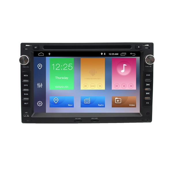 "7"" Android 9.0 DSP Car DVD Player Radio GPS For Old VW Transporter T4/T5 Bora Passat Mk5 Golf Mk4 Polo Jetta Peugeot 307 1998-2006"