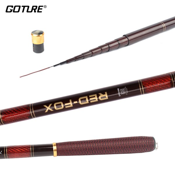 Goture 3.0-7.2M Stream Fishing Rod Carbon Fiber Fishing Rod Ultra Light Carp Pole