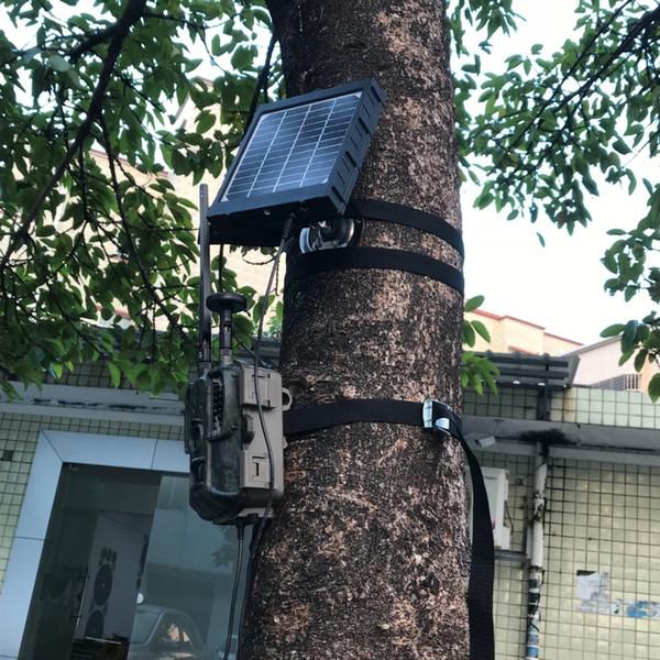Jagd-Sonnenkollektor der Jagd-4G für Foto-Fallen-externe Batterie-Solarladegerät 3000mAh Aluminium-Batterie-Polymer-Stromversorgung