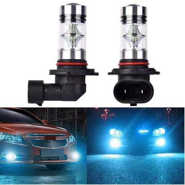 HOCOLO Ampoules LED pour feux de brouillard DRL: 5202 PS24W, H8 H11, H10 9140, T10 192 168,3157 4157,2504 PSX24W, H8 H11 / 9005 HB3 / 9006 HB4-100W blanc / bleu