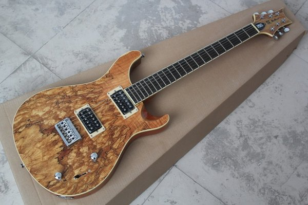 Frete grátis 2019 Top Quality SE PAUL ALLENDER Top Corpo Burlywood Guitarra Elétrica