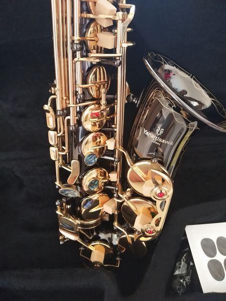 Nova marca japonesa Alto saxofone E instrumentos musicais planos Yanagisawa A-991 Preto Saxofone alto Profissional