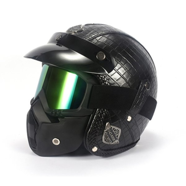 Full Face Racing Motocross Casque Hors Route Casque Moto Capacete Moto Casco Vintage Retro Cartoon Adult Children Mask Cool Helmets For Motorcycles