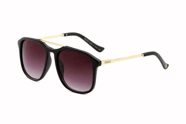 0321 gafas de sol de metal redondas gafas de diseñador de oro lente de cristal de flash para hombre para mujer gafas de sol de espejo unisex sun glasse envío gratis