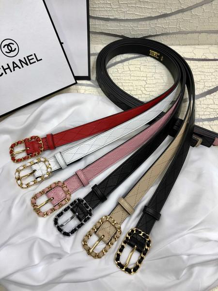 Cinturón de señoras de la moda del diseñador con mejores ventas Medusa de lujo de alta calidad + caja + bolso de mano