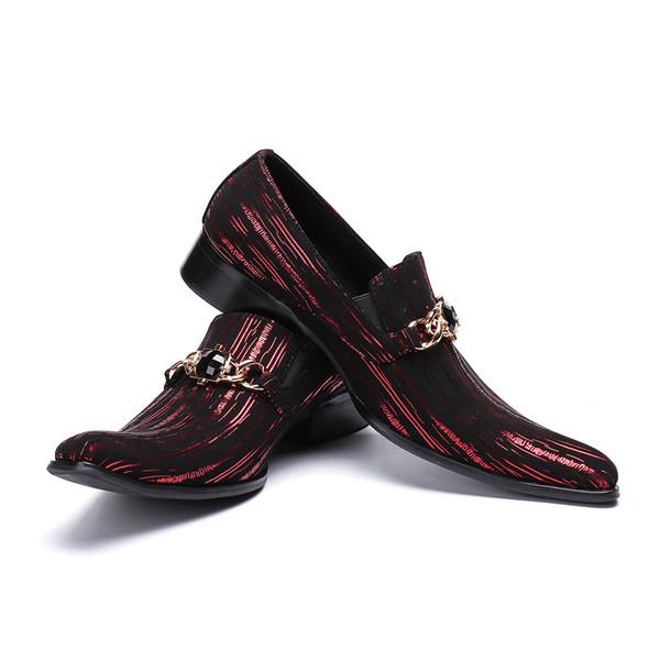 reputable site cc233 f5bd3 Großhandel Hohe Qualität Italienische 2019 Mode Herren Leder Schuhe  Business Kleid Anzug Männer Schuhe Beste Geschenke Männer Party Von ...