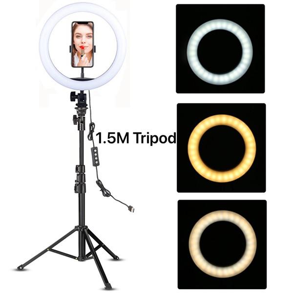 10 بوصة حلقة الضوء مع 55CM ترايبود