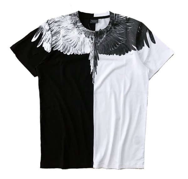 IUURANUS Wings T-shirts Summer Fashion Men Women Italy Marcelo Burlon T-Shirt RODEO MAGAZINE MB Top Tees Fashion Marcelo Burlon T-Shirts