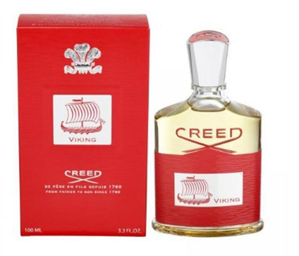 New Arrivals EDP 100ML Men Fragrance Creed Viking Perfume Spray High Quality Charming Scents Spray