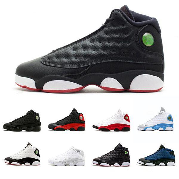 nike air jordan 13 aj13 Erkek 13 13 s Basketbol Ayakkabı siyah kedi DMP O Oyunu Var Chicago zeytin Irtifa Playoff Aşk Saygı Hiper Kraliyet Spor Sneakers ABD 7-13