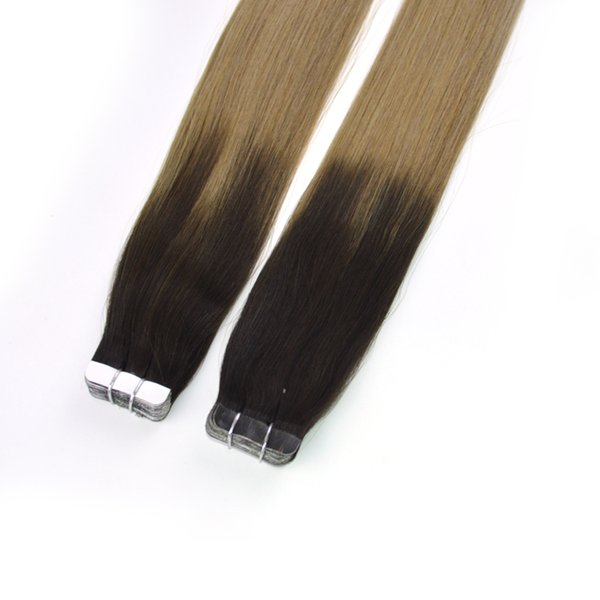 """Factory Outlet Cheap Best Skin Weft Tape In Human Hair Extensions 100% Peruvian Straight Remy Human Hair 18"""" 20"""" 22"""" 24"""" 100g 40pieces"""