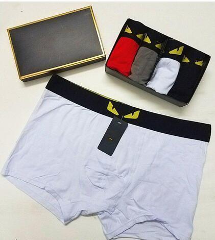 Designer Brand Mens Boxers Fashion Sexy Designer Boxers Short Male Cueca Male Boxers Underpants YFEV