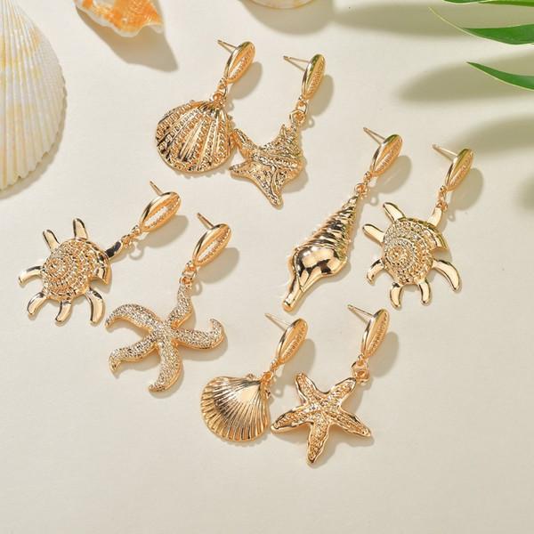 Pearl Shell Earrings Geometry Ocean Wind Starfish Eardrop Popular Earring Product Woman pearl earrings, piercing,Pandora charms,summer sundress women,shell jewelry,abalone shell jewelry,sea shell jewelry,shell jewelry set,shell jewelry diy,cowrie shell jewelry,conch shell jewelry,women shell jewelry sets