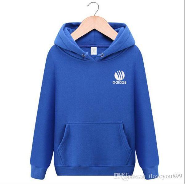 Mens Branded Hoodie Light Fleece Sweatshirts Fashion Printed Hooded Pullovers 9 Colors Street Style Mens Sportswear