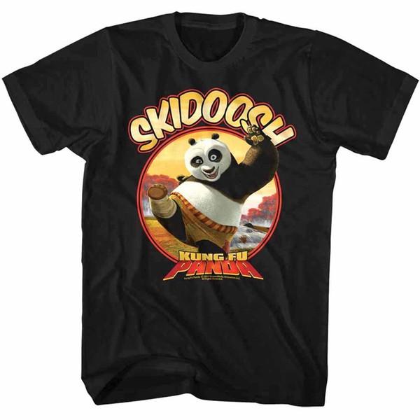 0ee307d3537 Kung Fu Panda Po Skidoosh Fat Ninja Warrior Men'S T Shirt Dreamworks  Cartoon Top 2018 Men'S Lastest Fashion Short Sleeve Printed Funny T Tee  Shirt ...